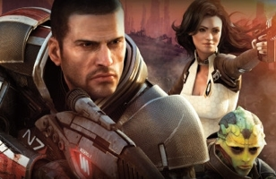 Mass Effect 2 Cover Art